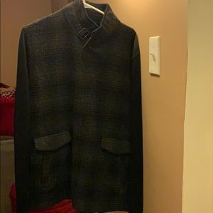 Men's Banana Republic sweater jacket. Size XL